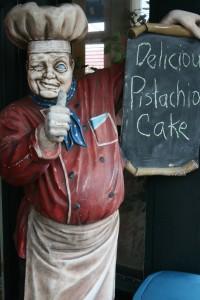 delicious pistachio cake