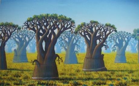 baobab tree painting