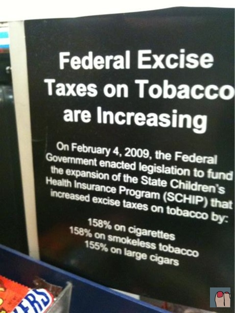 federal excise taxes on tobacco