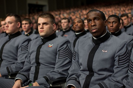 cadets listen to barack obama