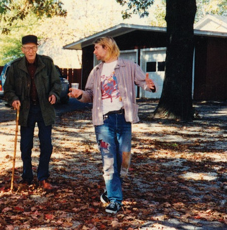 william s burrough & kurt cobain