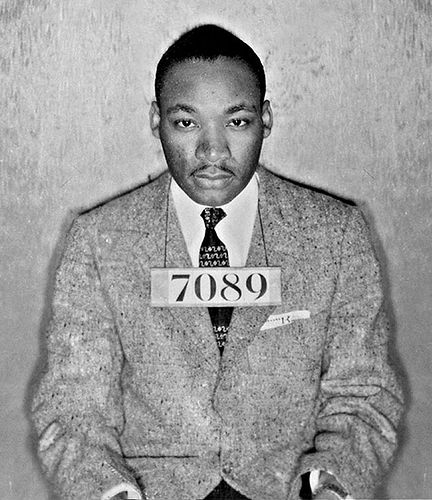 martin luther king jr mugshot