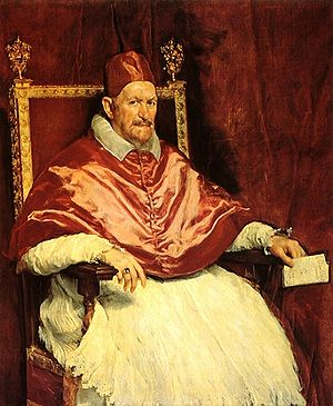 The Portrait of Pope Innocent X