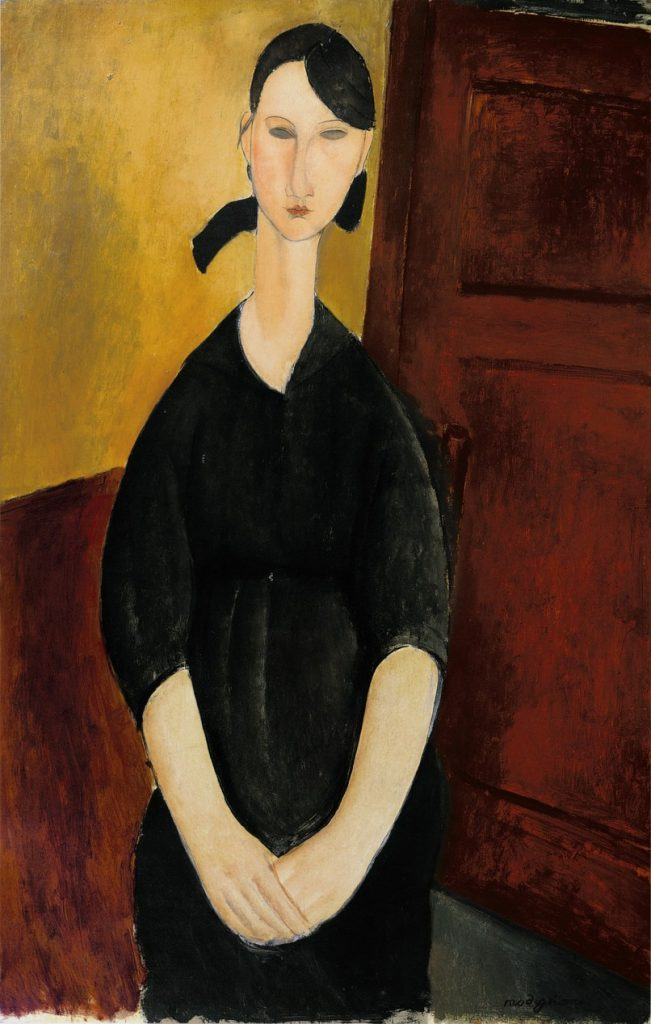 Portrait de Paulette Jourdain by Modigliani
